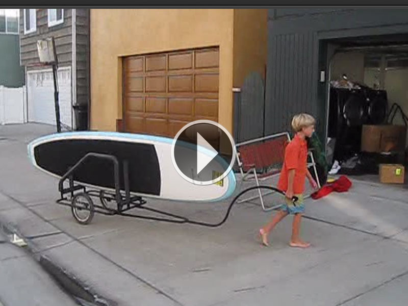 Child's Play to Tow the Boardwagon